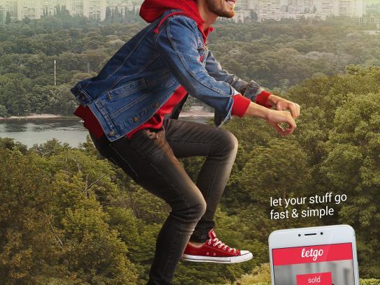 Letgo Print Ad - Bike