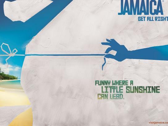Jamaica Tourist Board Print Ad -  Bikini