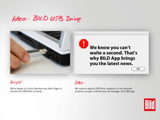 Bild Direct Ad -  No one likes waiting