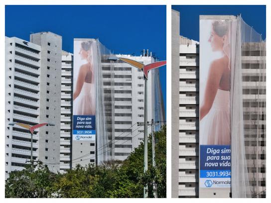 Normatel Incorporações Outdoor Ad - Bride