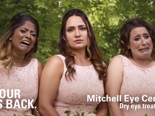 Mitchell Eye Centre Outdoor Ad - Bridesmaids