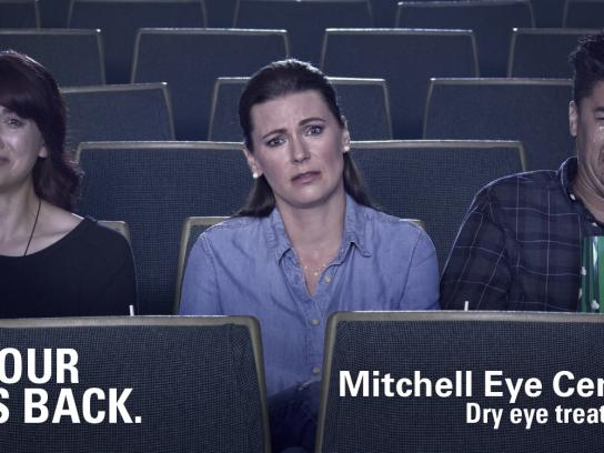 Mitchell Eye Centre Outdoor Ad - Movie