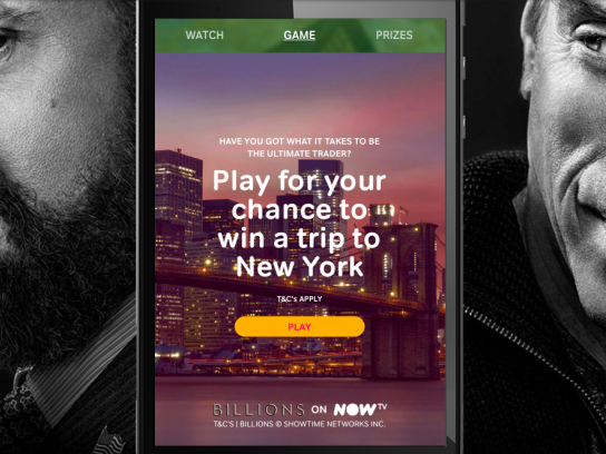 Billions Digital Ad - #MakeBillions
