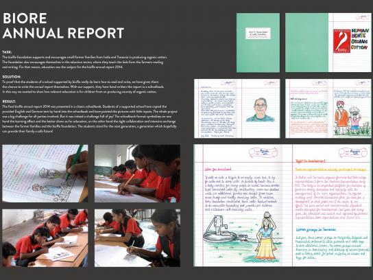 bioRe Foundation Direct Ad - Annual report