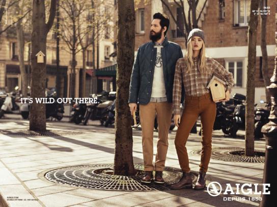 Aigle Print Ad -  Birdhouse
