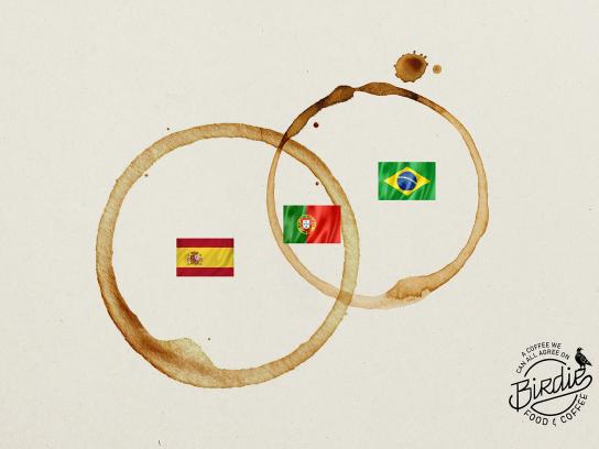 Birdie Print Ad - Portugal