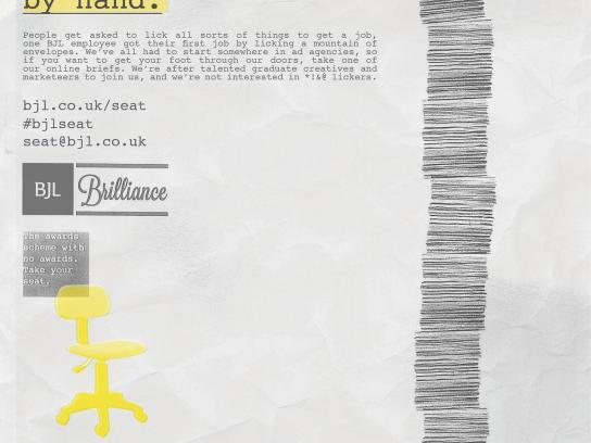 BJL Print Ad -  Envelopes