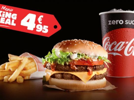 Burger King Film Ad - Burger King Deal Menu