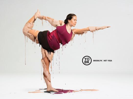 YO BK Yoga Studio Print Ad - Hot yoga, 1