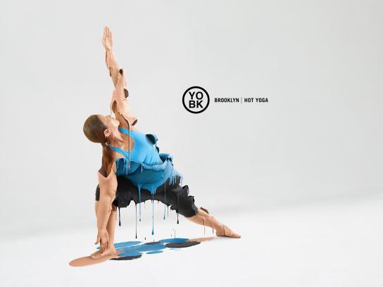 YO BK Yoga Studio Print Ad - Hot yoga, 2