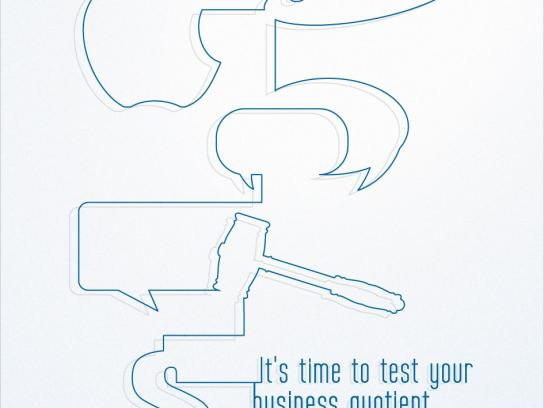 Business Line Print Ad -  Test, 2