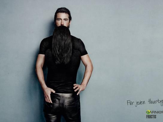 Garnier Print Ad -  Black