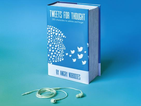 Black Button Books Print Ad - Tweets