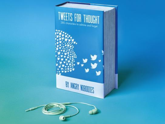 Black Button Books Print Ad - Tweets