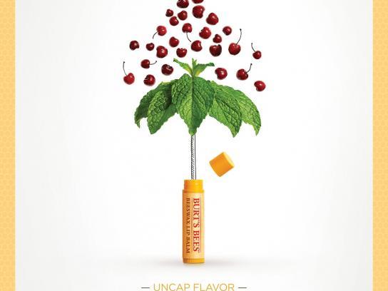 Burt's Bees Print Ad -  Uncap Flavor, 4