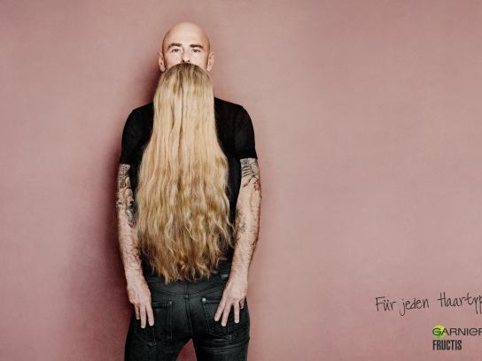 Garnier Print Ad -  Blonde