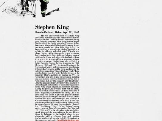 City of Buenos Aires Print Ad -  Stephen King