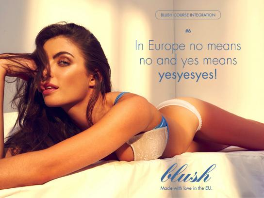 Blush Outdoor Ad - #6