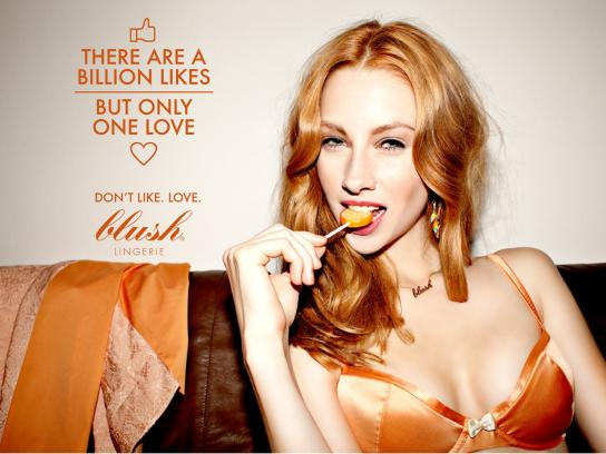 Blush Print Ad -  Facebook, 2