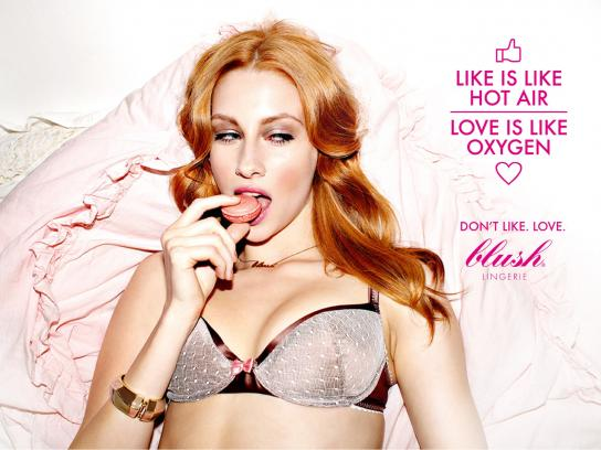 Blush Print Ad -  Facebook, 1