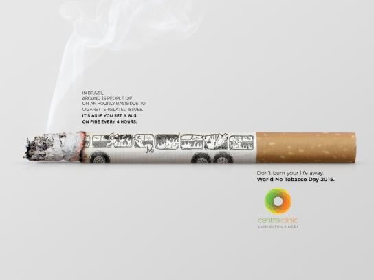Central Clinic Print Ad -  Bus