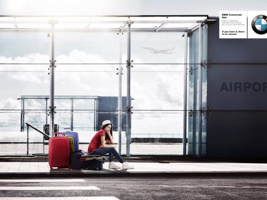 BMW Print Ad - Airport
