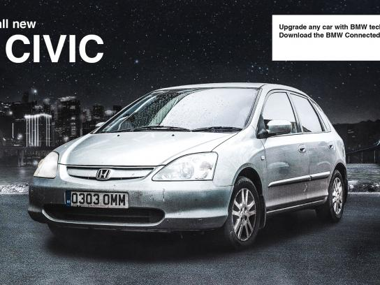 BMW Outdoor Ad - Civic