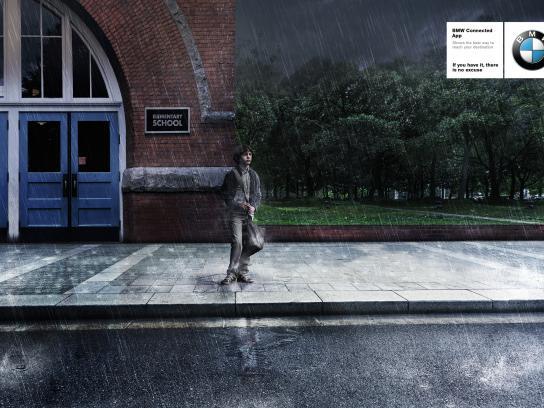 BMW Print Ad - Boy