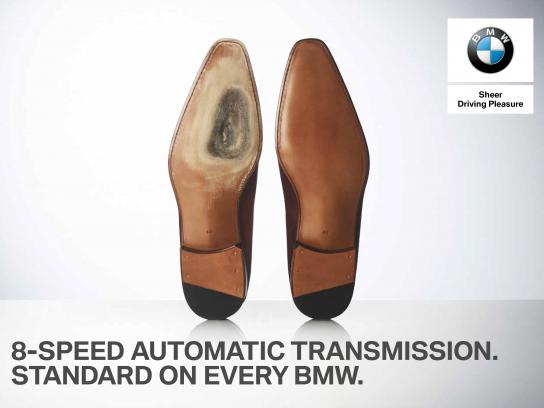 BMW Outdoor Ad - Shoes
