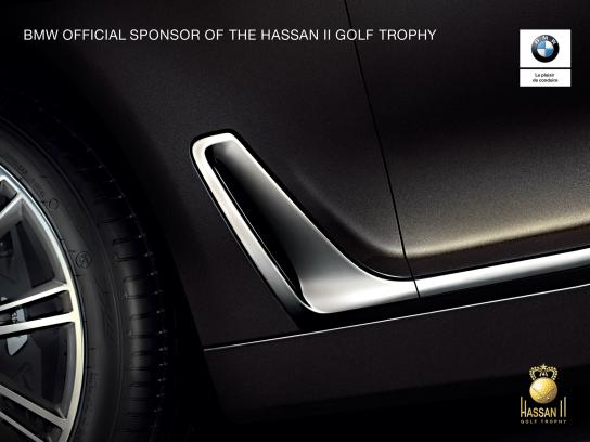 BMW Print Ad - Hassan II Golf Trophy