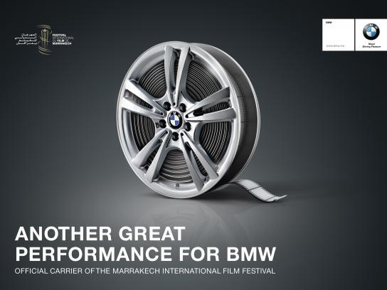BMW Print Ad - Marrakech Film Festival