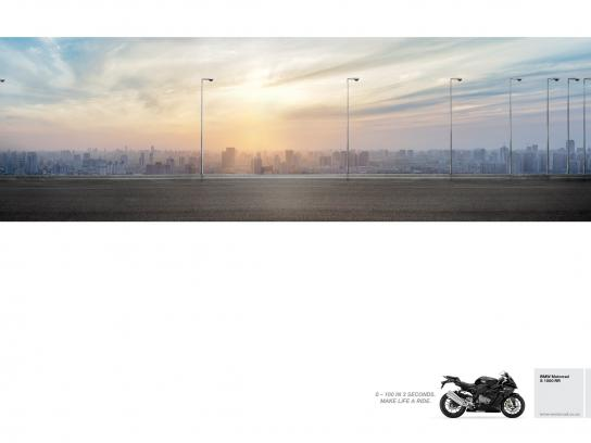 BMW Print Ad - Accelerate - City