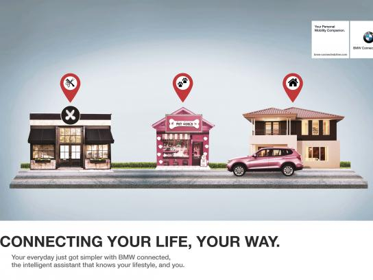 BMW Print Ad - Connected Drive, 2
