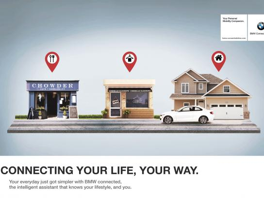 BMW Print Ad - Connected Drive, 3