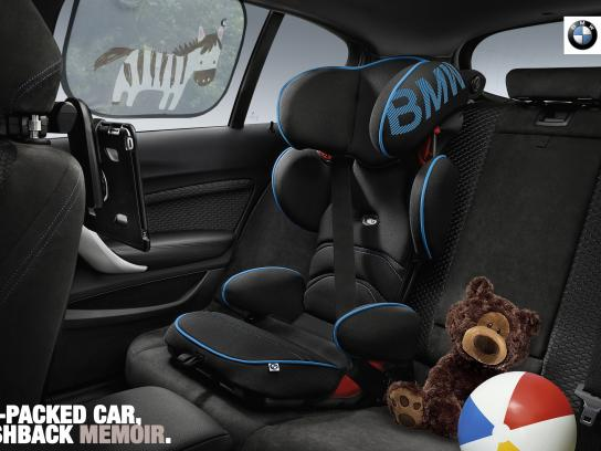 BMW Print Ad - The Family Time Car