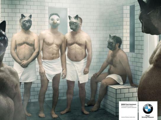 BMW Print Ad -  Sauna