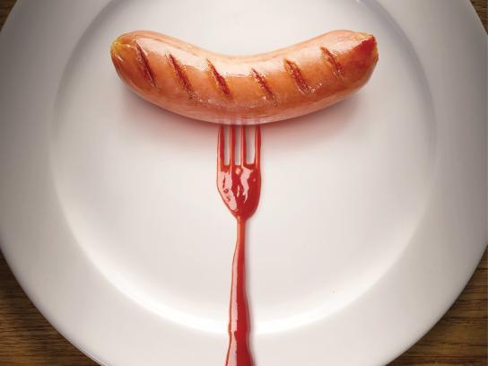 Heinz Print Ad -  Fork