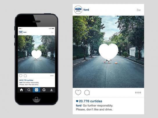 Ford Digital Ad -  Don't like and drive, 2