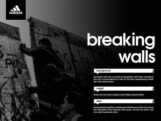 Adidas Experiential Ad - Adidas Breaking Walls