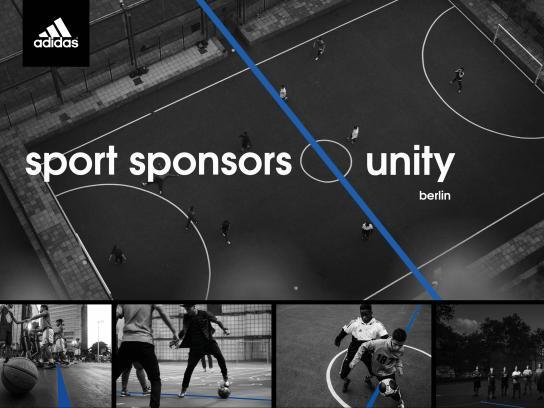Adidas Print Ad - Sport Sponsors Unity