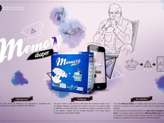 Alzheimer's Association Digital Ad -  Memory Diaper