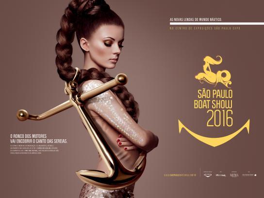 São Paulo Boat Show Print Ad - Anchor