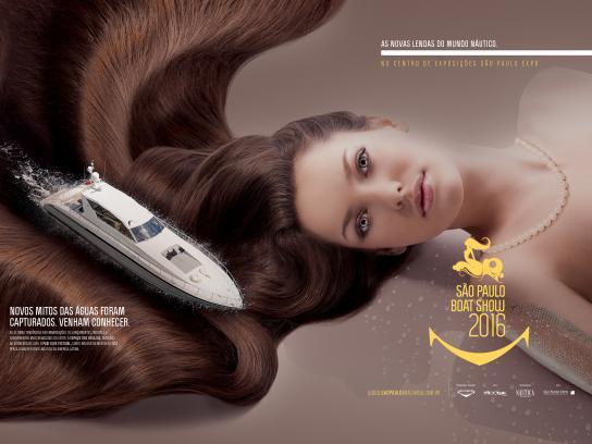 São Paulo Boat Show Print Ad - Boat, 3