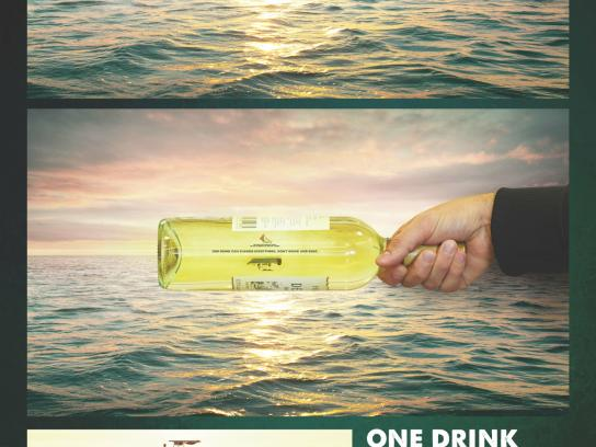 The Canadian Safe Boating Council Ambient Ad -  Bottle