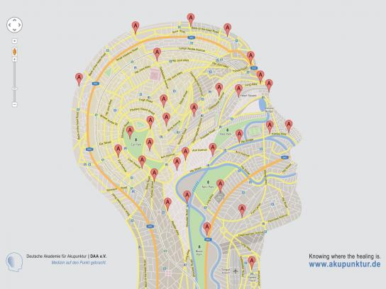 Deutsche Akademie für Akupunktur Print Ad -  Head