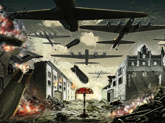 Zoom Print Ad -  War, 2