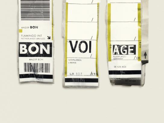 Expedia Print Ad -  BON VOI AGE