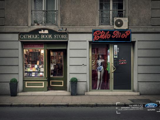 Ford Print Ad - Dual-zone - Bookstore