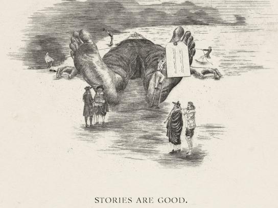 Vilnius Book Fair Print Ad -  Gulliver
