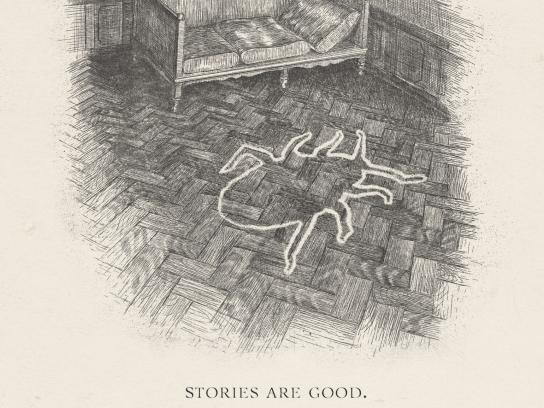 Vilnius Book Fair Print Ad -  Metamorphosis